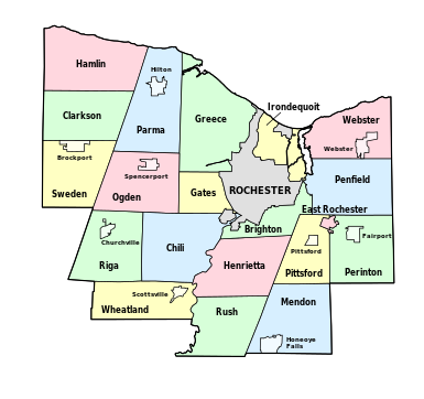 counties map